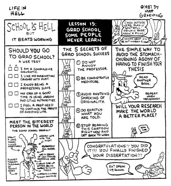 Matt Groening School is Hell